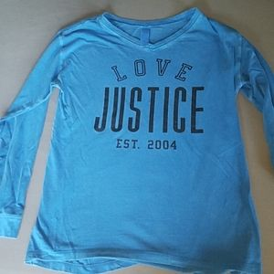 Long sleeve girls Justice shirt